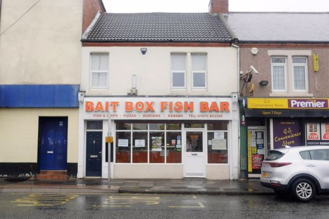 Thumbnail Restaurant/cafe for sale in Bait Box Fish Bar, 4A Milburn Road, Ashington