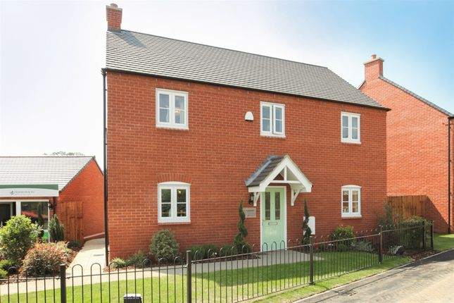 "Thumbnail Detached house for sale in ""The Harewood "" at Ashton Road, Roade, Northampton"