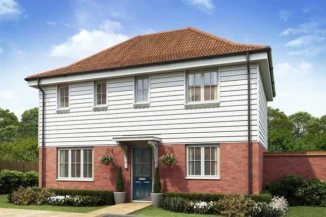 "Thumbnail 3 bedroom detached house for sale in ""The Clayton Corner"" at Market View, Dorman Avenue South, Aylesham, Canterbury"
