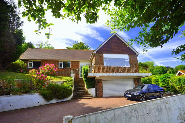 Thumbnail Detached house for sale in Hillside, East Dean, Eastbourne