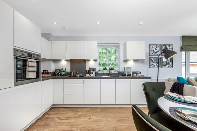 Thumbnail Flat for sale in Central Park, Tadworth Gardens, Tadworth