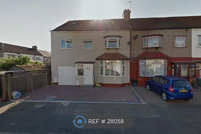 Thumbnail End terrace house to rent in Cranley Drive, Ilford