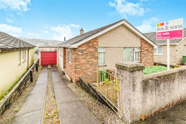 Thumbnail Detached bungalow for sale in Bearsdown Close, Plymouth