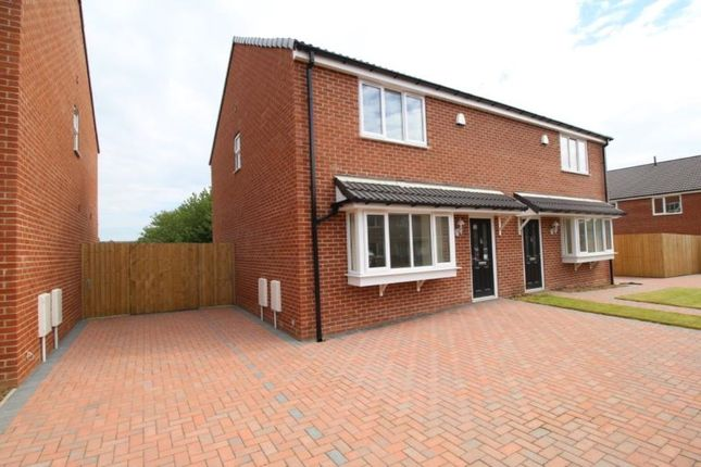 Thumbnail Semi-detached house to rent in Ivanhoe Court Ulrica Drive, Thurcroft, Rotherham
