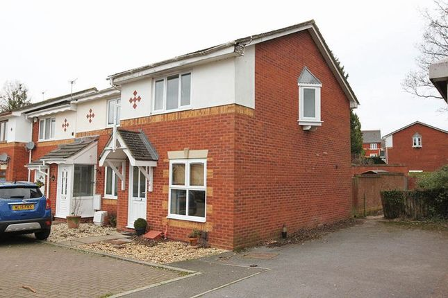 Thumbnail End terrace house to rent in Excalibur Close, Exeter