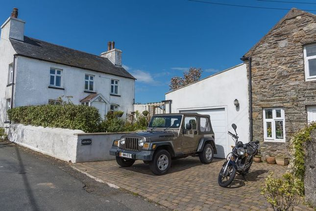 Thumbnail Detached house for sale in Manx Cottage With Annexe, Ballakilpheric, Colby