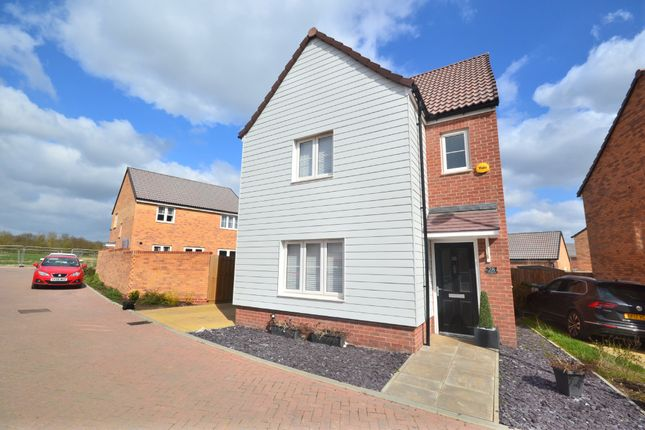 Thumbnail Detached house for sale in Cheetah Chase, Stanway, Colchester