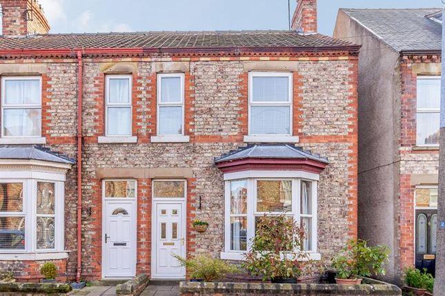 Thumbnail End terrace house for sale in St Peter Street, Norton, Malton