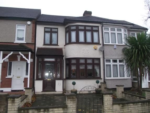 Thumbnail Terraced house for sale in Clive Road, Heath Park, Romford