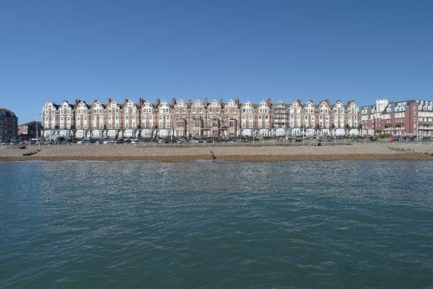 Thumbnail Flat for sale in Seafront Apartment, Bexhill-On-Sea, East Sussex