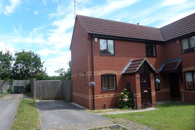 2 bed semi-detached house to rent in Huntingdon Court, Melbourne, Derby