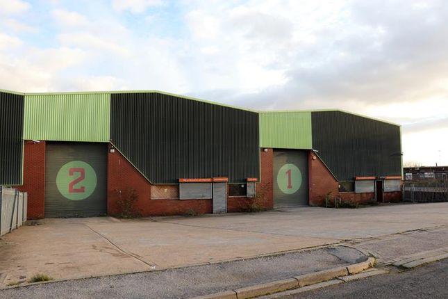 Thumbnail Warehouse to let in Unit 1-2, Hope Street, Rotherham, South Yorkshire