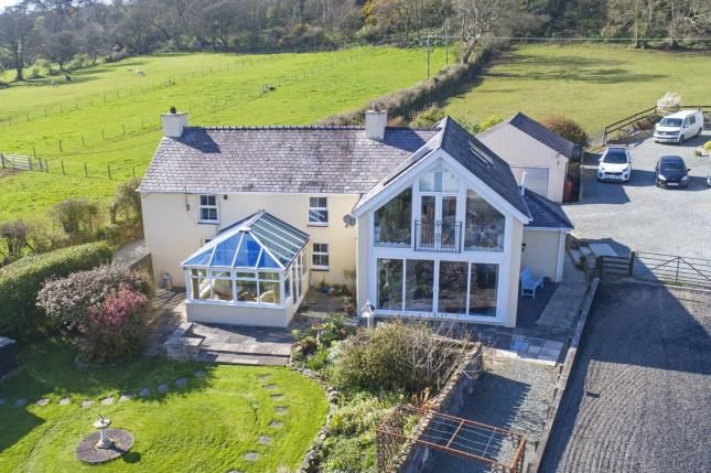Thumbnail Detached house for sale in Paradwys, Bodorgan, Sir Ynys Mon, Anglesey