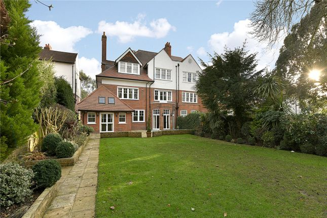 Thumbnail Semi-detached house to rent in Heath Drive, Hampstead, London