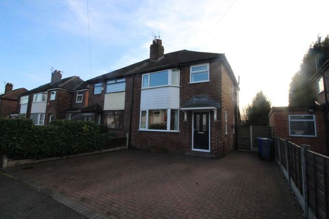 Thumbnail Semi-detached house to rent in Tanfield Road, Didsbury, Manchester