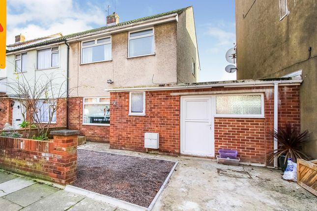 Thumbnail End terrace house for sale in St. Pauls Avenue, Barry