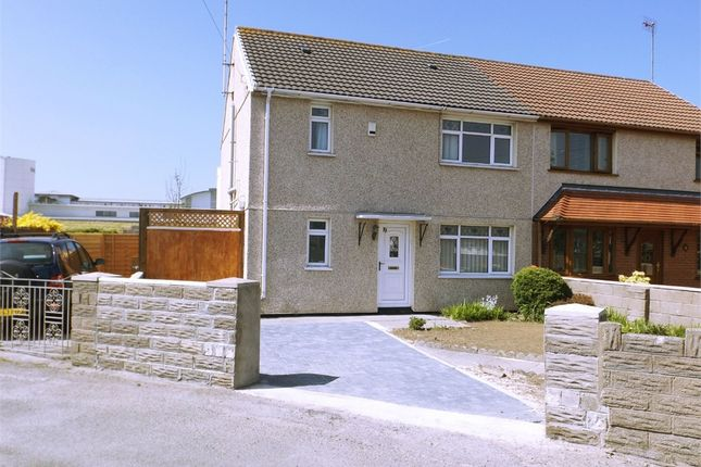 Thumbnail Semi-detached house for sale in Brwyna Avenue, Aberavon, Port Talbot, West Glamorgan