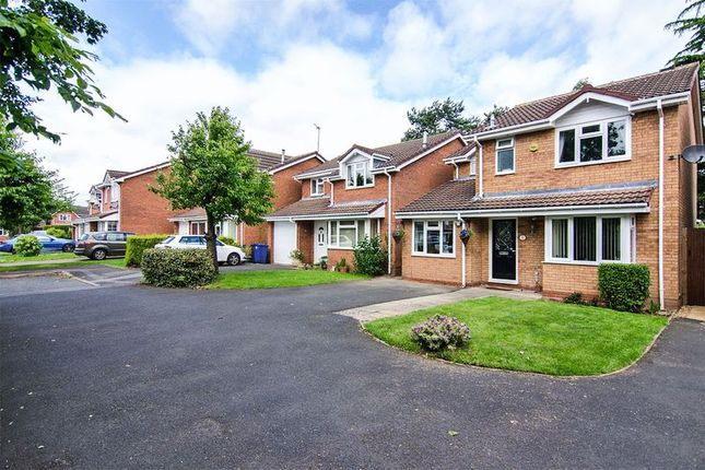 Thumbnail Detached house for sale in Spinney Close, Chase Terrace, Burntwood