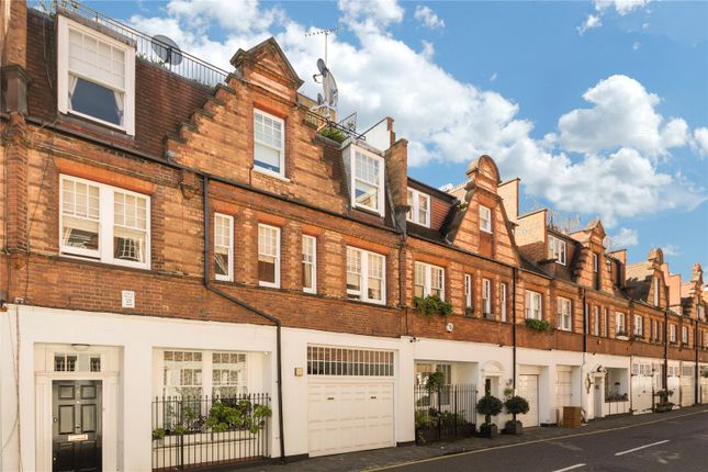 Exterior of Holbein Mews, Chelsea, London SW1W