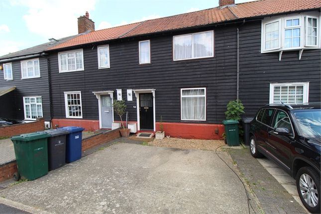 Thumbnail Terraced house to rent in Fortescue Road, Edgware, Middlesex