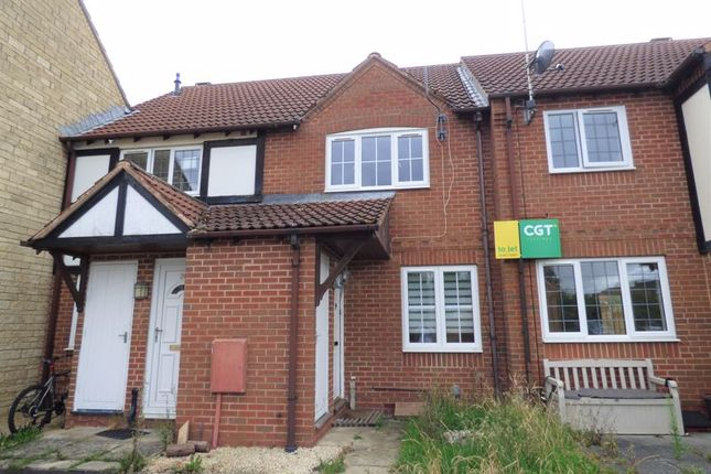 Thumbnail Terraced house for sale in Dunlin Close, Quedgeley, Gloucester