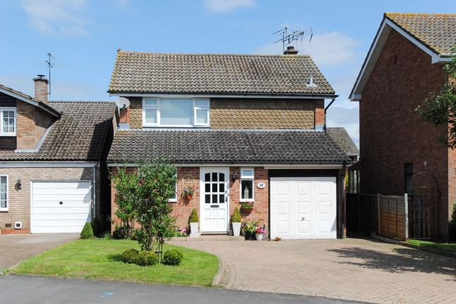 Thumbnail Detached house for sale in Wagstaffe Close, Harbury, Leamington Spa