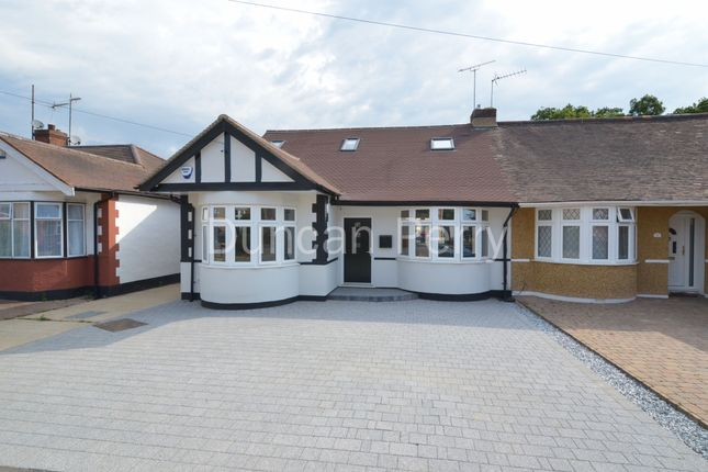 Thumbnail Semi-detached bungalow to rent in Aberdale Gardens, Potters Bar
