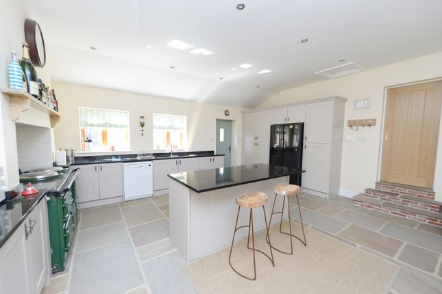 Thumbnail Detached bungalow for sale in Stainsby Common, Heath, Chesterfield