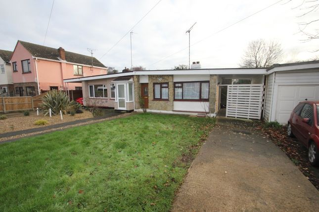 2 bed semi-detached bungalow for sale in Grovewood Avenue, Eastwood, Leigh-On-Sea