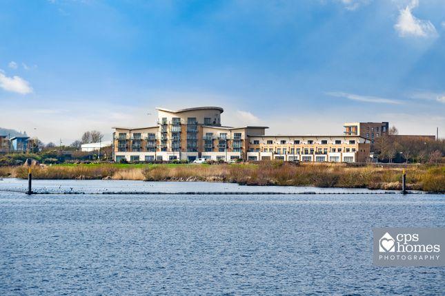 Thumbnail Flat for sale in Lacuna, Windsor Esplanade, Cardiff Bay