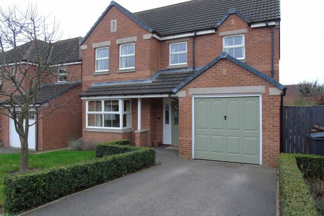 Thumbnail Detached house to rent in Fordham Drive, Lincoln