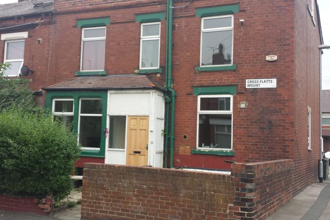 Thumbnail End terrace house to rent in Cross Flatts Mount, Leeds