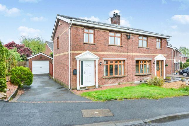 Thumbnail Semi-detached house for sale in Highgrove, Lisburn