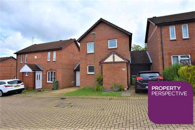 Thumbnail Link-detached house for sale in Cavenham, Two Mile Ash, Milton Keynes