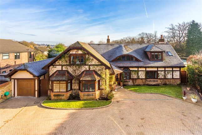 Thumbnail Detached house for sale in Lyne, Chertsey, Surrey