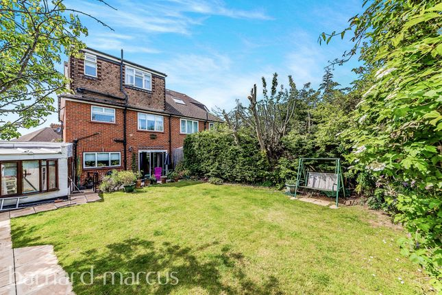 Thumbnail Semi-detached house for sale in Chetwode Drive, Epsom