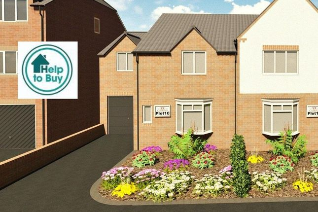 Thumbnail Semi-detached house for sale in The Blenheim, Plot 10, Quarry Lane, Mansfield