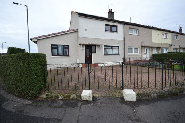 Thumbnail End terrace house for sale in Dosk Avenue, Yoker, Glasgow