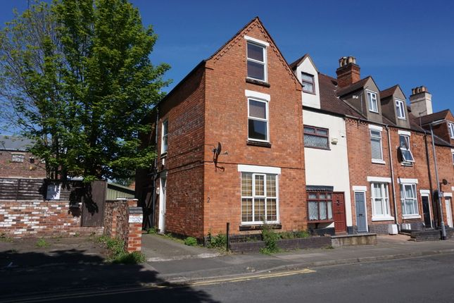 Thumbnail End terrace house for sale in Heath Street, Tamworth