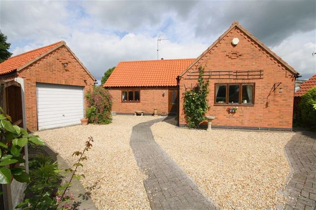 Thumbnail Detached bungalow for sale in Newcastle Street, Tuxford, Nottinghamshire