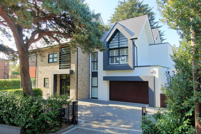 Thumbnail Detached house for sale in Ravine Road, Canford Cliffs, Poole
