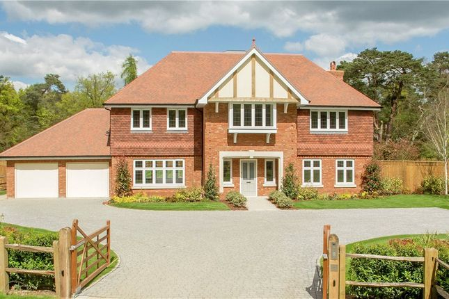 Thumbnail Detached house for sale in Eastwood Place, Eversley, Hook