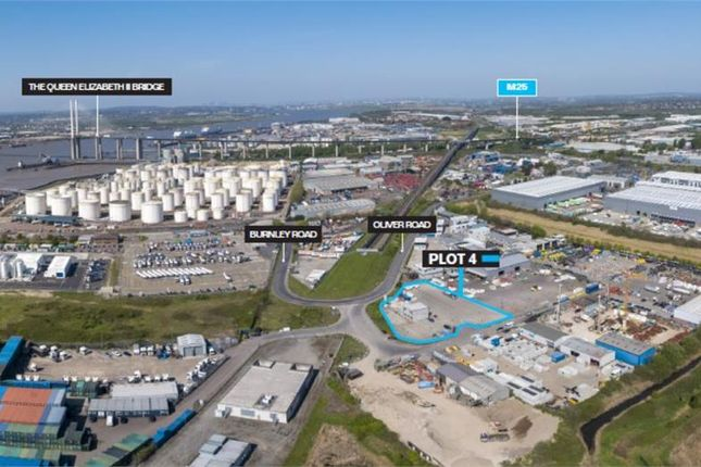 Thumbnail Land to let in Plot 4, Thurrock Open Storage Park, Oliver Road, West Thurrock, Grays, Essex