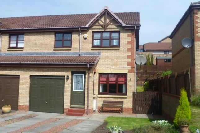 Thumbnail Semi-detached house to rent in Hayston Road, Cumbernauld, Glasgow