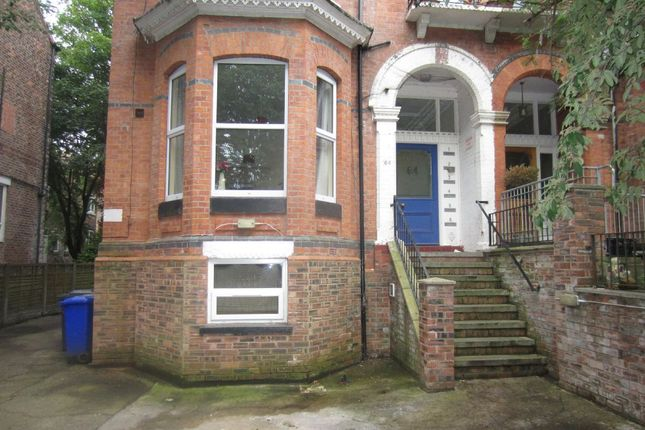 Thumbnail Studio to rent in 64 Demesne Road, Whalley Range, Manchester