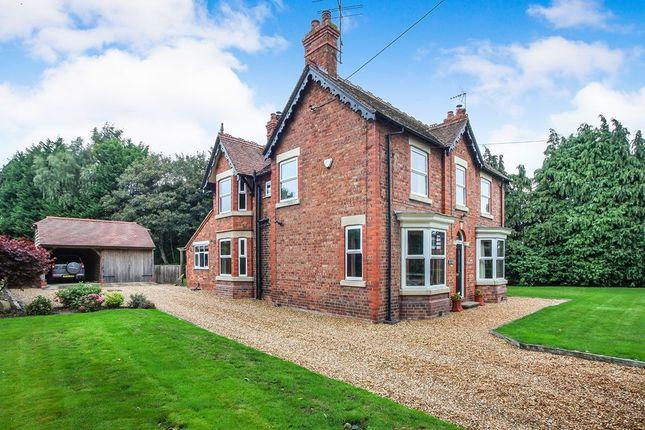 Thumbnail Detached house for sale in Sandy Lane, Aston, Nantwich