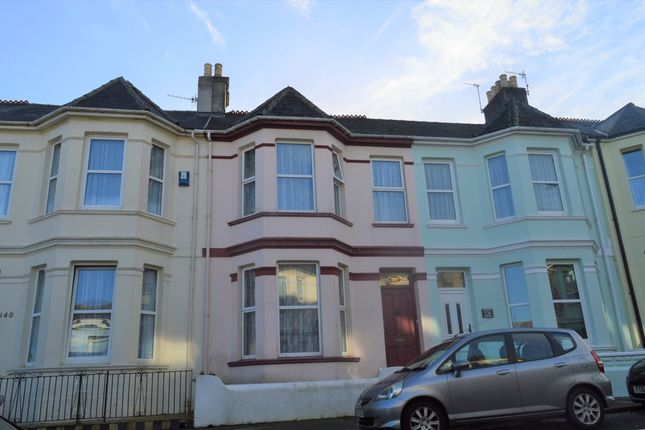 Thumbnail Terraced house to rent in Desborough Road, Plymouth