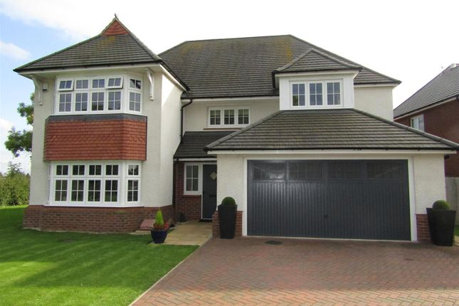 Thumbnail Detached house for sale in Queens Close, Countesthorpe, Leicester