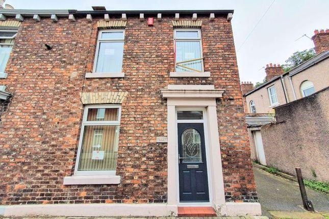 Thumbnail End terrace house for sale in Hawick Street, Carlisle