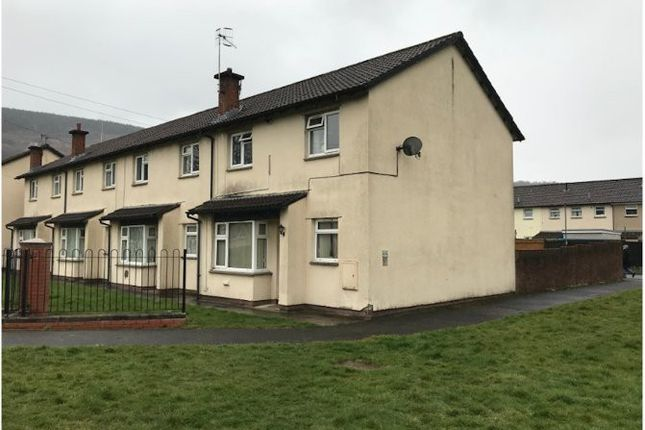 Thumbnail End terrace house for sale in Pant-Y-Cerdin, Aberdare, Mid Glamorgan